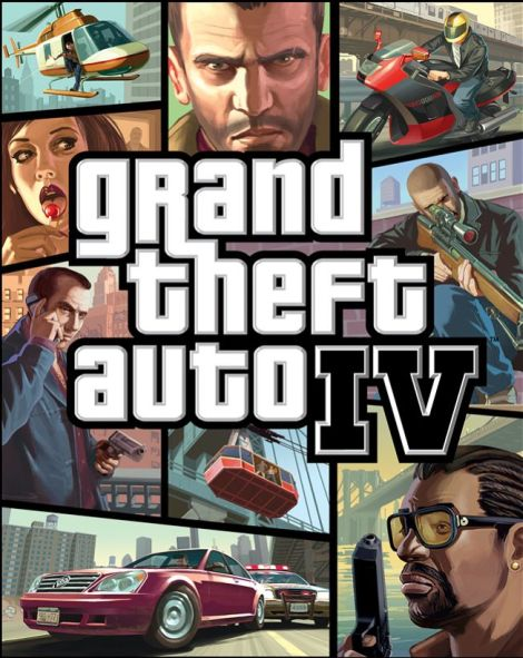 OFFICIAL COVER FOR GTAIV game  from GTAIV.eu
